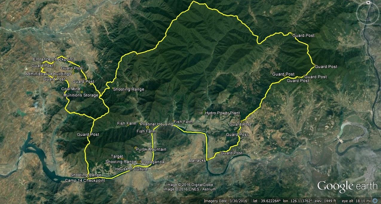 Camp 14 updates (2016-3-30) « North Korean Economy Watch Camp Google Maps on