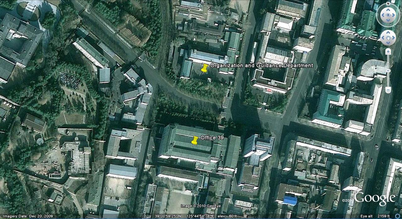 Image result for Room 39  Location: Pyongyang, North Korea?