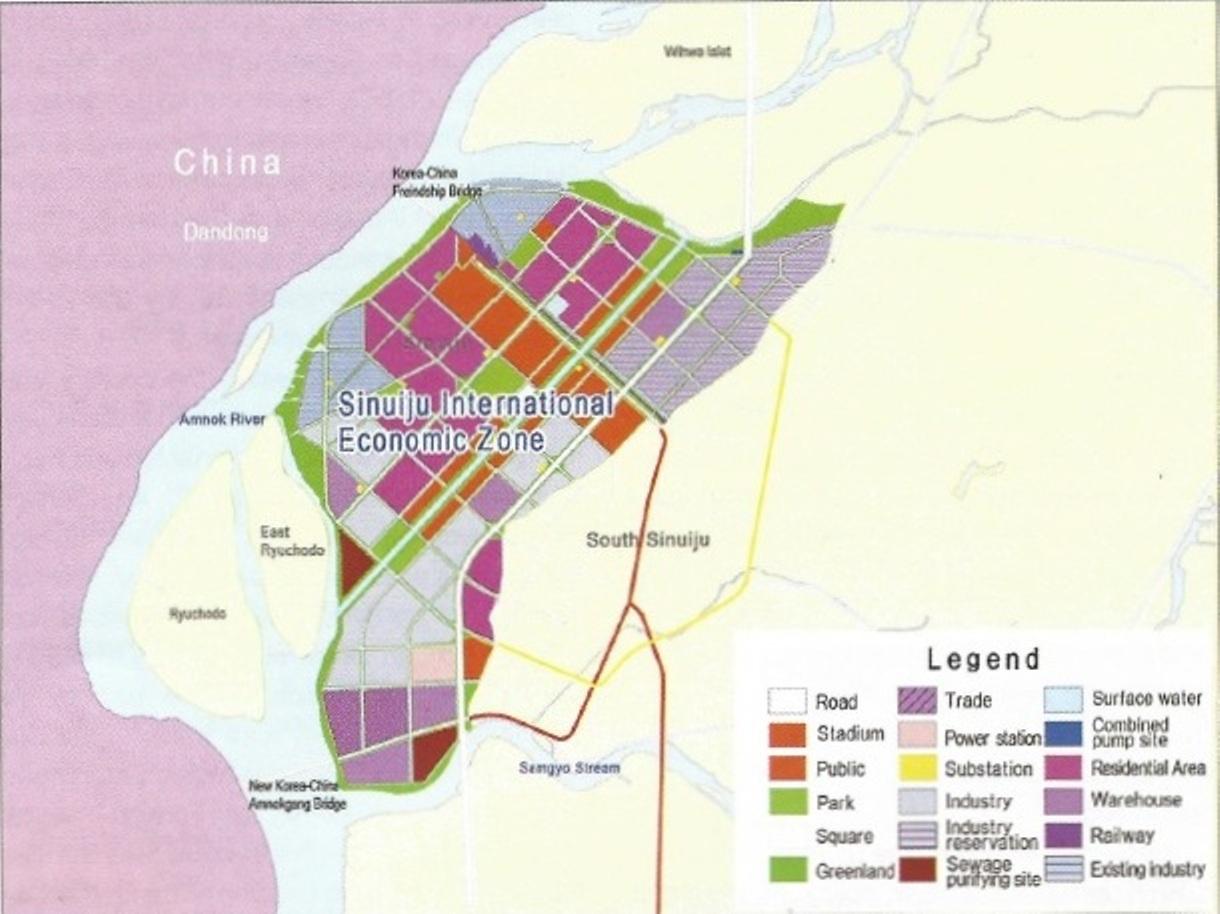 North Korean Economy Watch Sinuiju Special Administrative Region