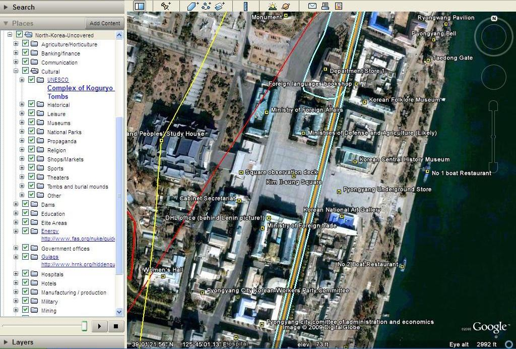 North korean economy watch north korea uncovered google earth gumiabroncs Image collections