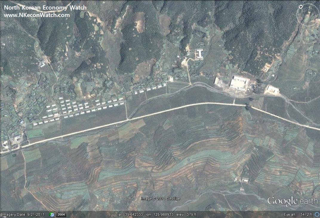 North Korean Economy Watch Blog Archive Speculation Time A - Google map us base korea